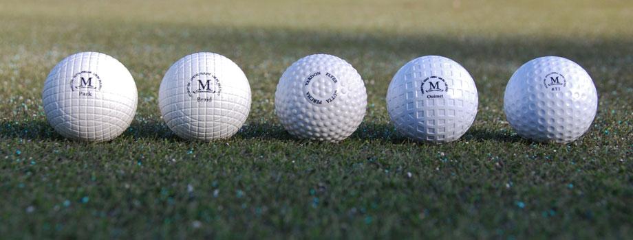 McIntyre Golf Balls