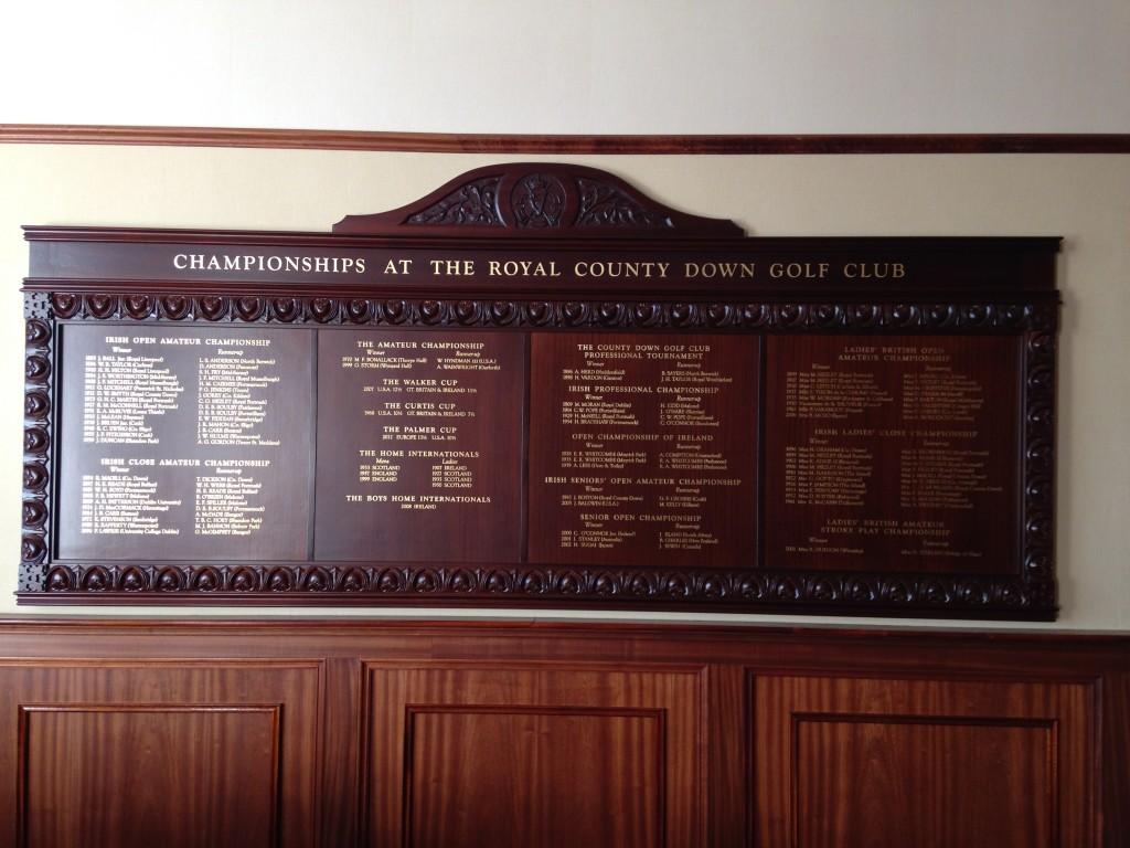Championship Board