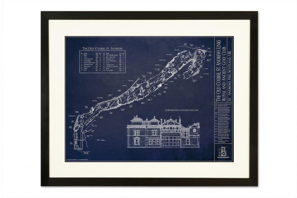 St Andrews black frame full res