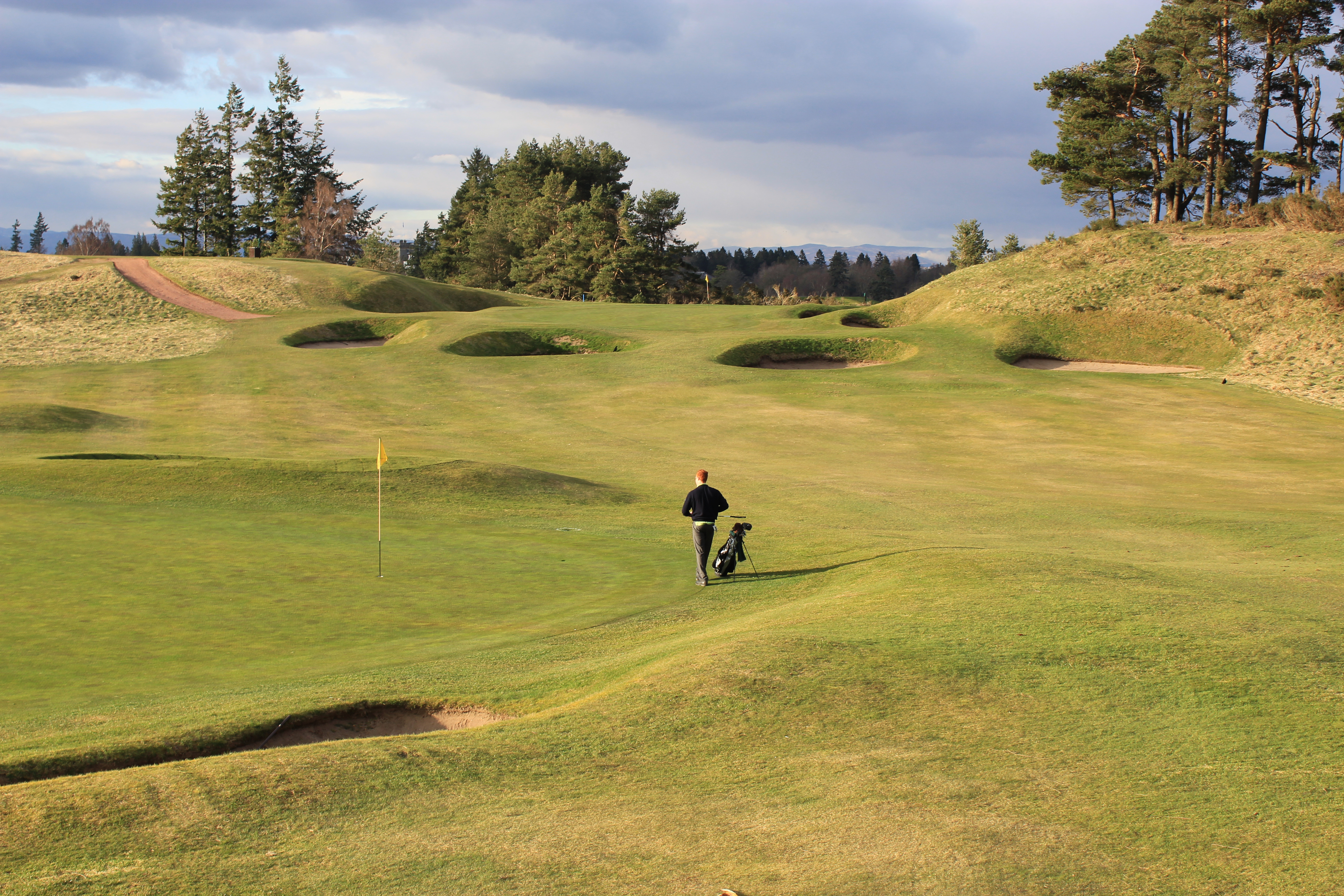 Gleneagles Centenary Kings Courses Review Graylyn Loomis Piping Layout Course As I Rewrite This Conclusion Four Years After Initially Published The Post Know That All Three Are Now In Much Better Condition